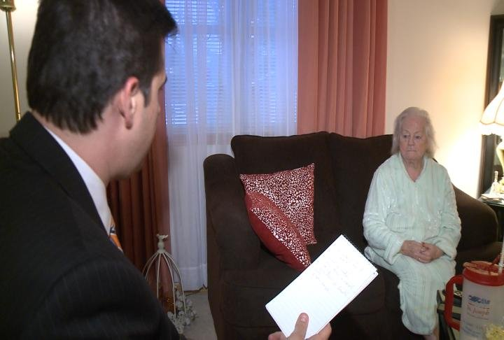Zola Jackson is recovering from Legionnaires' Disease at her home. She spoke with WGEM's Gene Kennedy Friday night.