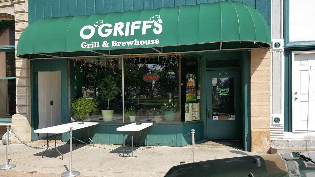 O'Griff's owner said his business was broken into over the weekend.