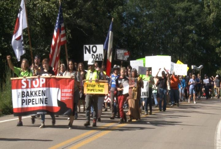 Pipeline Protest from September 10th in Sandusky, Iowa.
