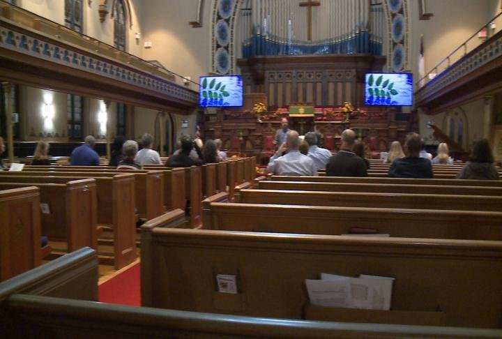 Residents attend prayer service in Quincy