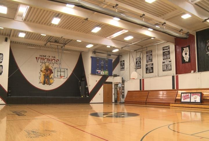 The district hopes to use revenue from the sales tax to fund the construction of a new gymnasium.