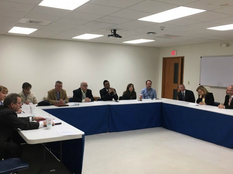 Board members meet in special session Tuesday morning.