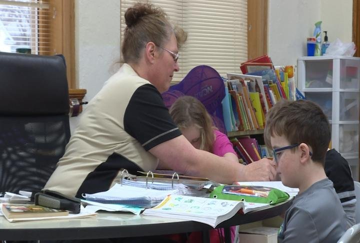 Shelly Langeland has taught special education at Webster Elementary for 17 years.