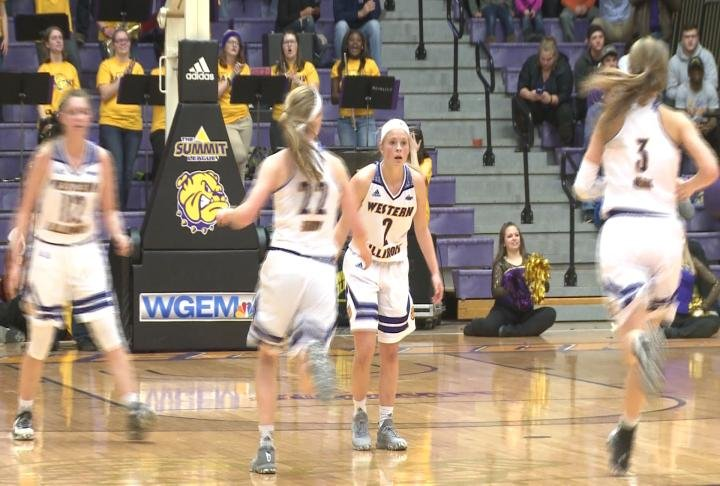 Western Illinois snapped a 19-game losing streak vs. South Dakota State to grab the top spot in the Summit League.