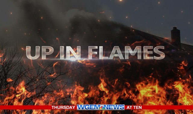 Up in Flames tonight on WGEM News at Ten
