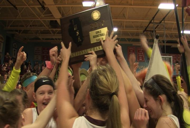 Unity rolled past Princeville for its first sectional championship in program history.
