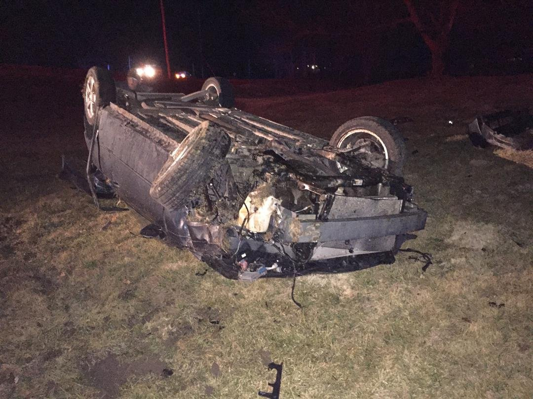 Rollover accident in Quincy