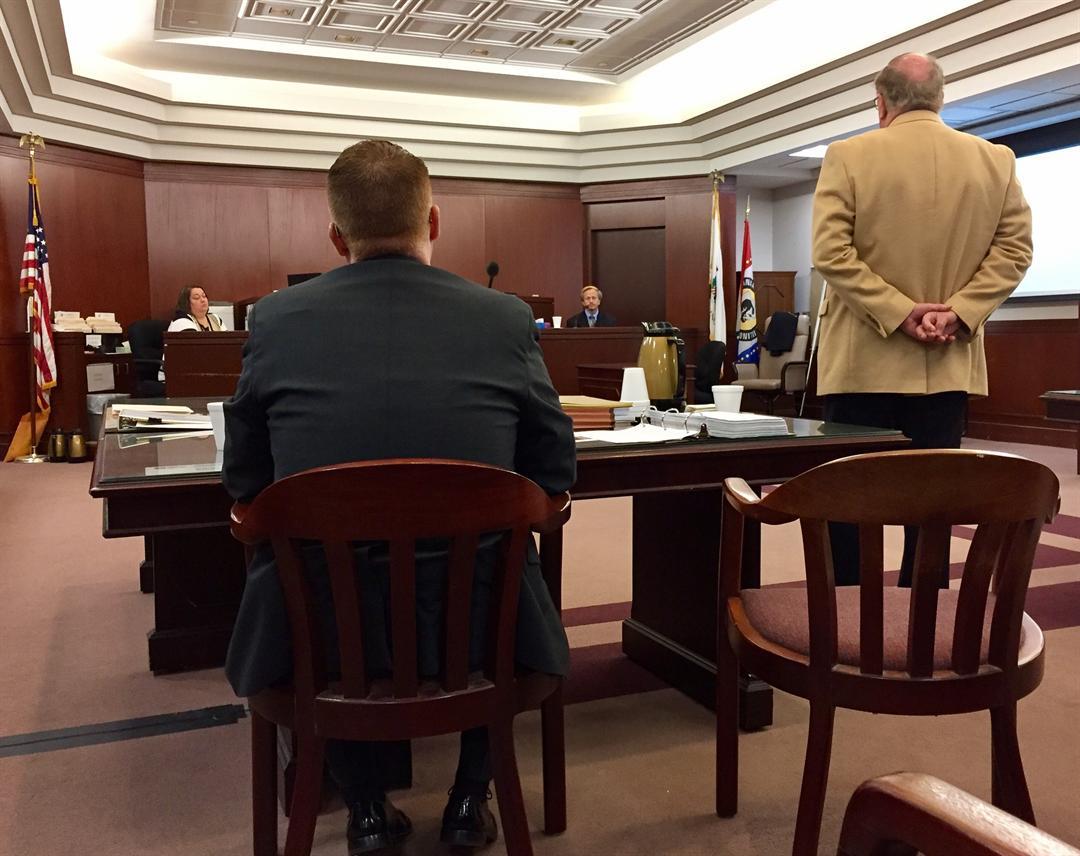 Adams County Coroner Jim Keller testifies.