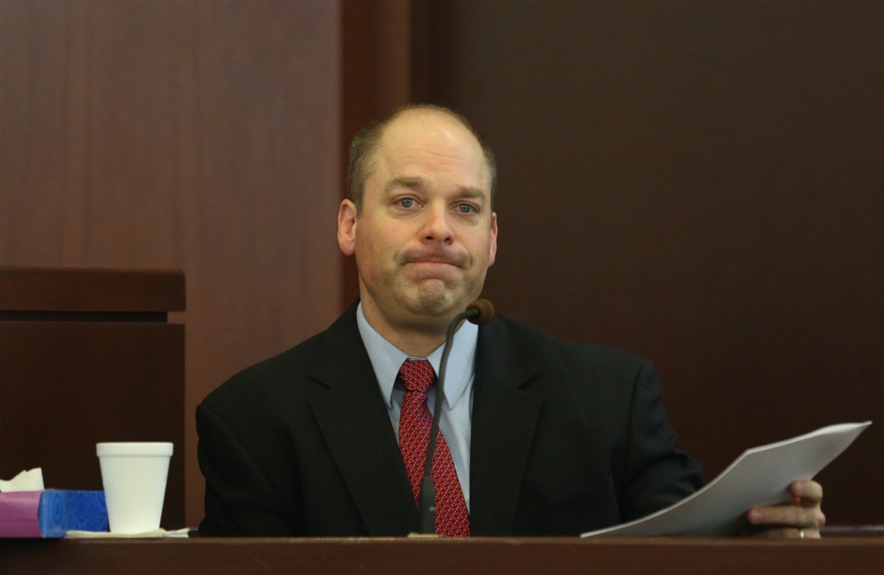 Detective Jeff Baird testifies.