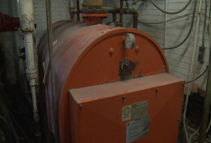 The boiler system hasn't been replaced since 1975.