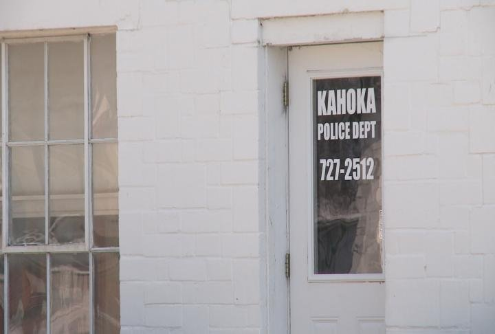 Kahoka Police Department on N. Washington Street.