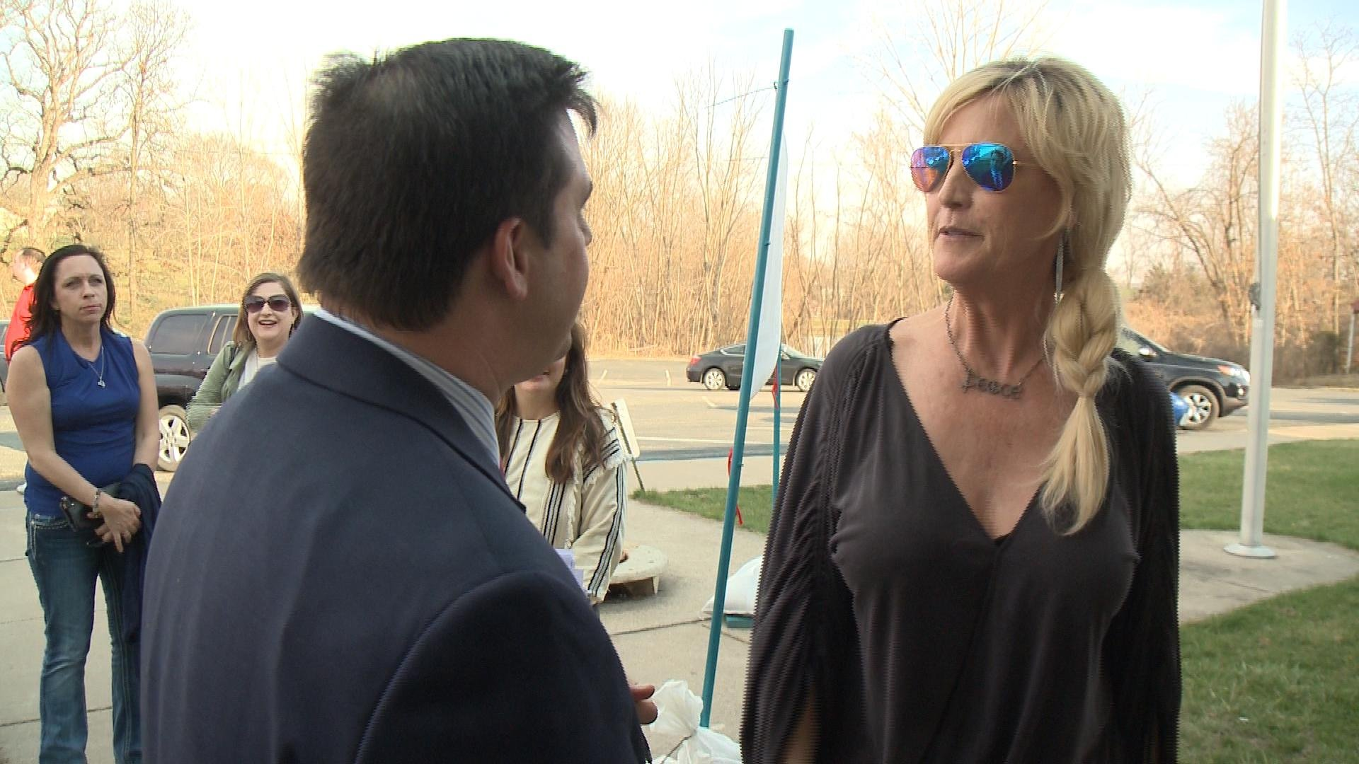 Brockovich talks with WGEM's Gene Kennedy
