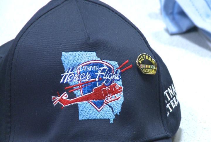 Great River Honor Flight hats