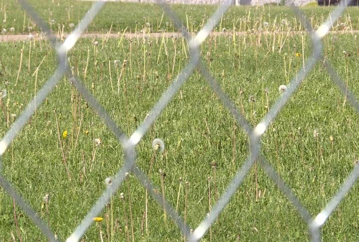Look at the ground where grave sites were found on the new Adams County Jail Site.