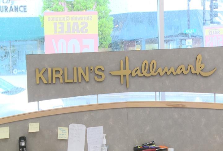 Kirlin's Hallmark closed Saturday