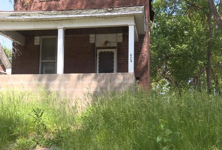 This home at 624 North 8th Street is on the city's radar for tall grass.