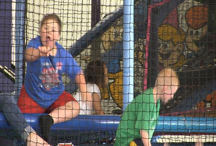 Students enjoyed a fun day at Going Bonkers thanks to a grant from a former Quincy Public School superintendent
