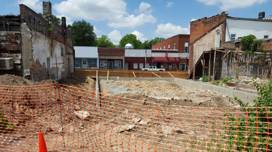 Site of the new building for NECAC in New London, Missouri
