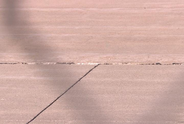 Cracks found in the runway at the Quincy Regional Airport.