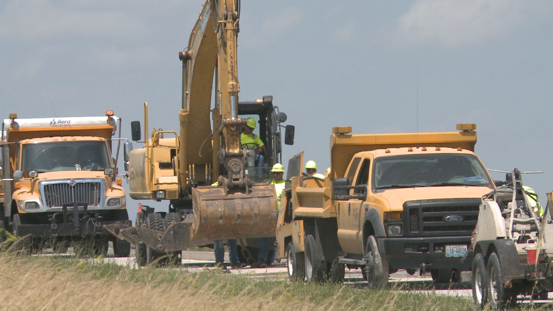 Troopers urge caution in work zones
