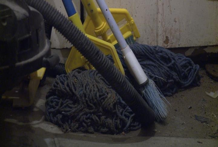 Tools to clean up