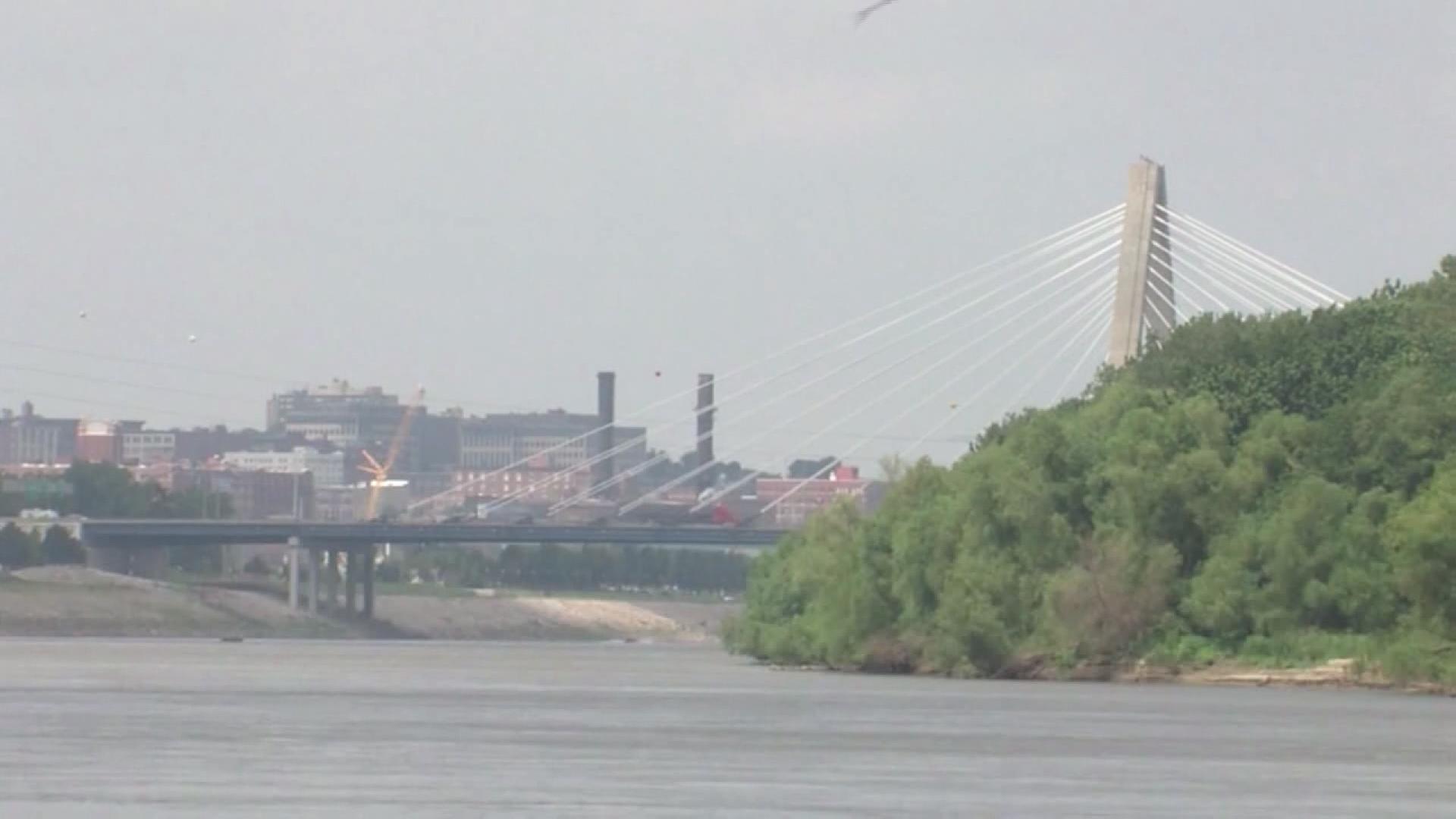 Bond Bridge in Kansas City, Missouri