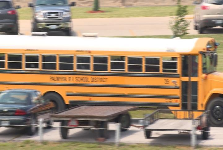 Palmyra school bus