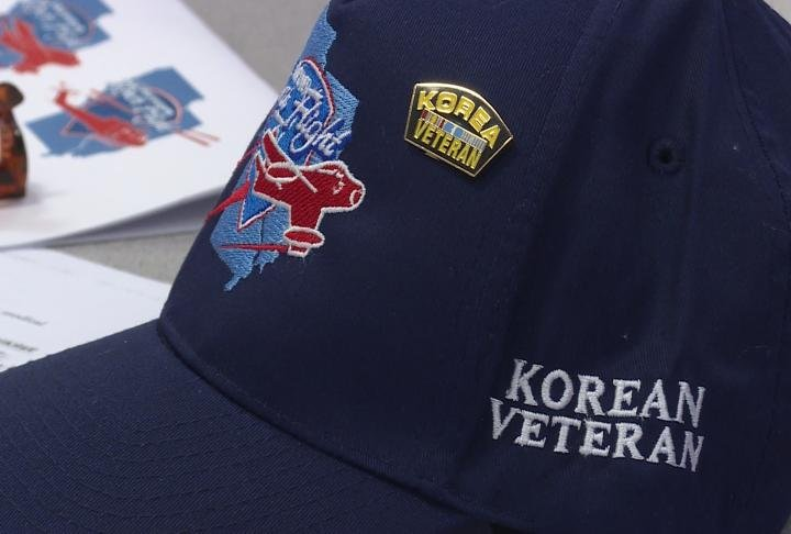Every veteran got a Honor Flight hat