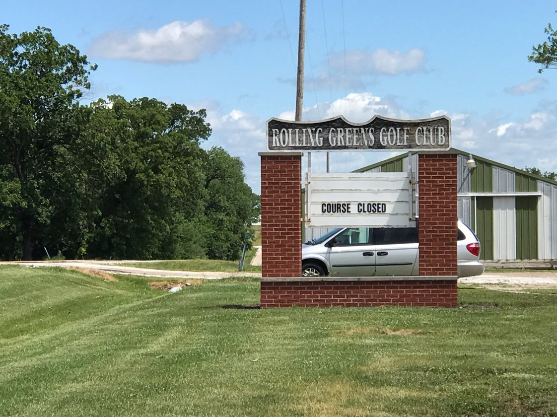 Rolling Greens Golf Course closed on Father's Day due to storm damage