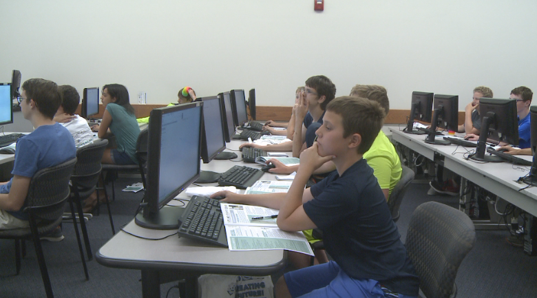 12 to 16-year-olds learn about manufacturing and entrepreneurship.