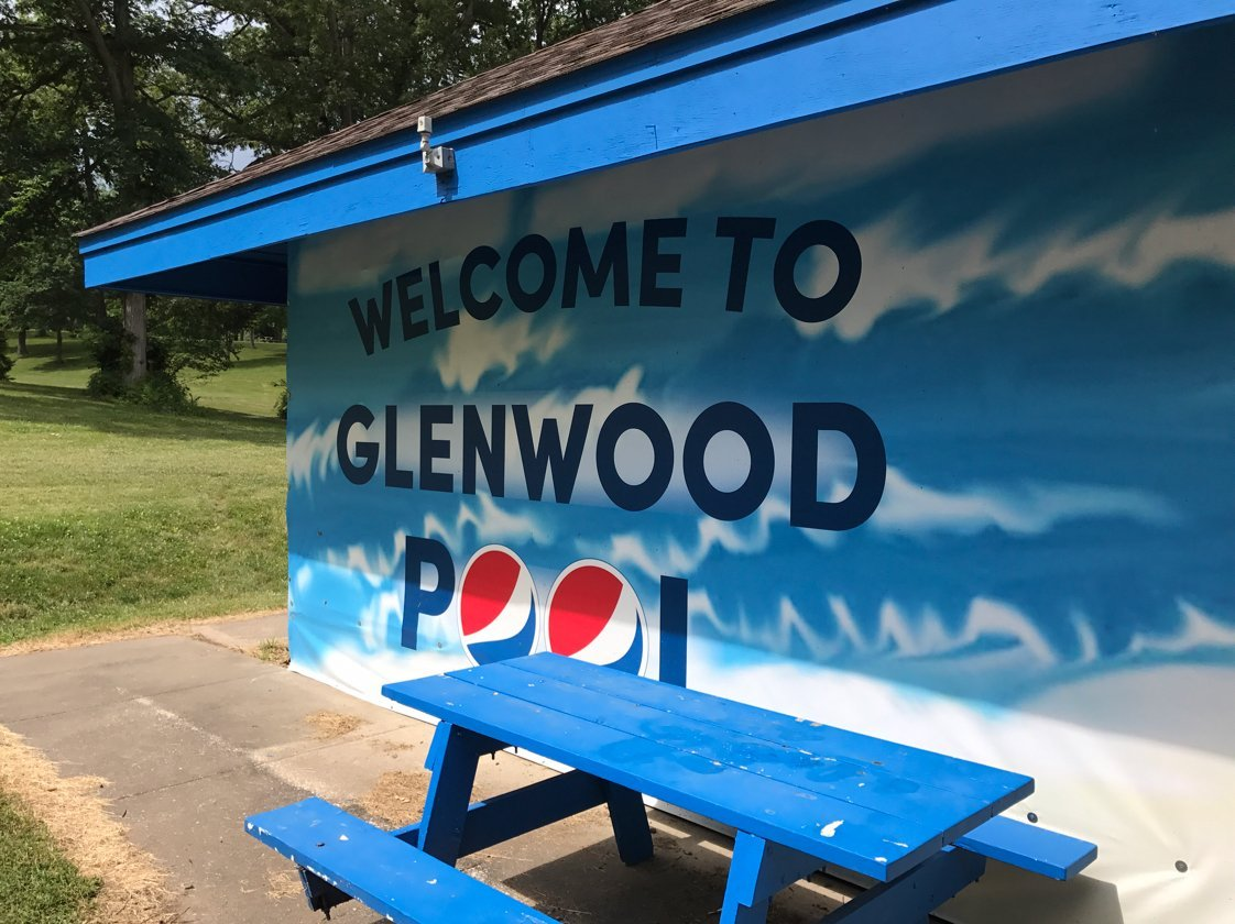 Glenwood pool in Macomb
