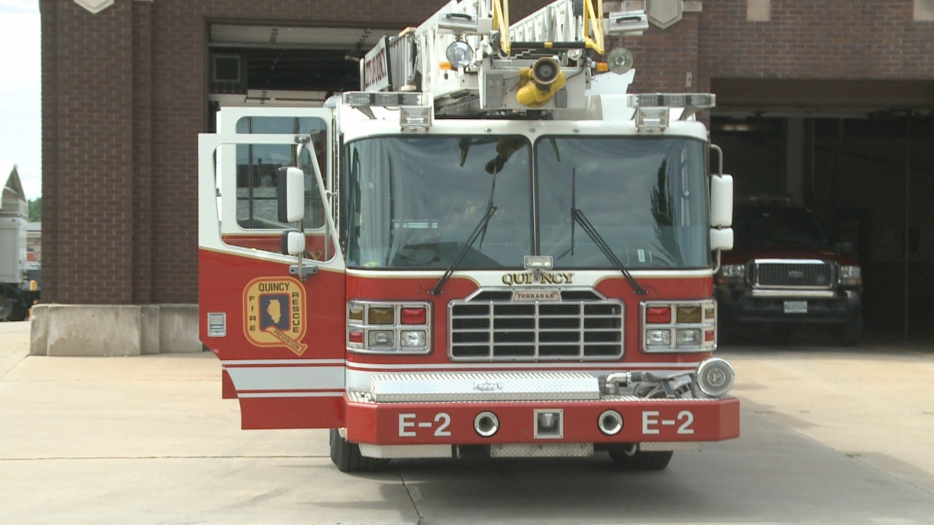 Quincy fire truck