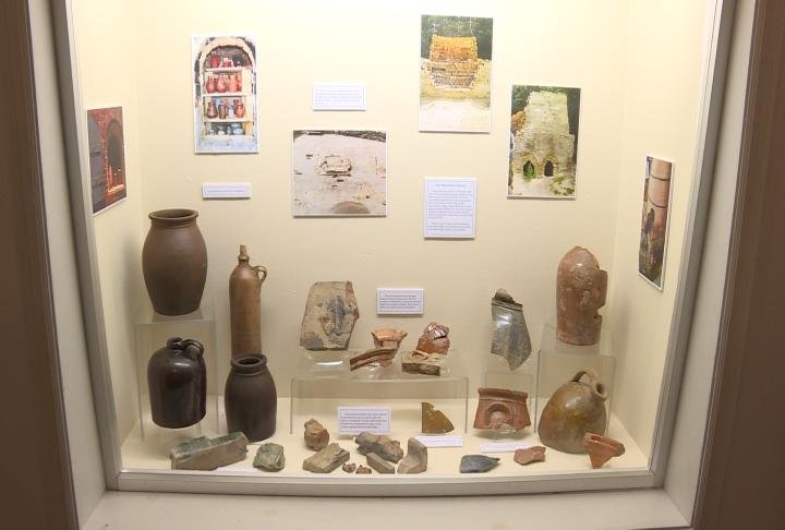 Different Pottery from the exhibit
