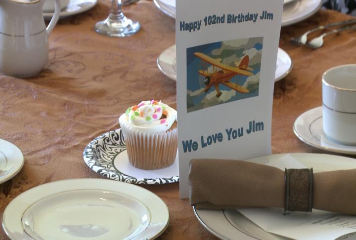 Haslem's birthday celebration was at Curtis Creek.