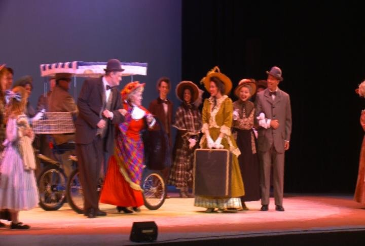Another shot of Wednesday's performance of Hello Dolly