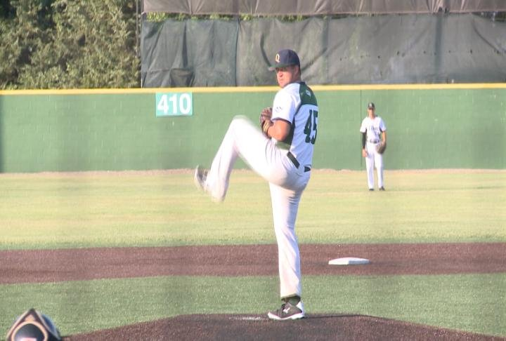 Nick Stroud struck out 10 over 5.2 innings to lift Quincy to a win over Terre Haute.