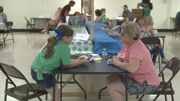 4-H'ers show off projects at the Marion County Fair.
