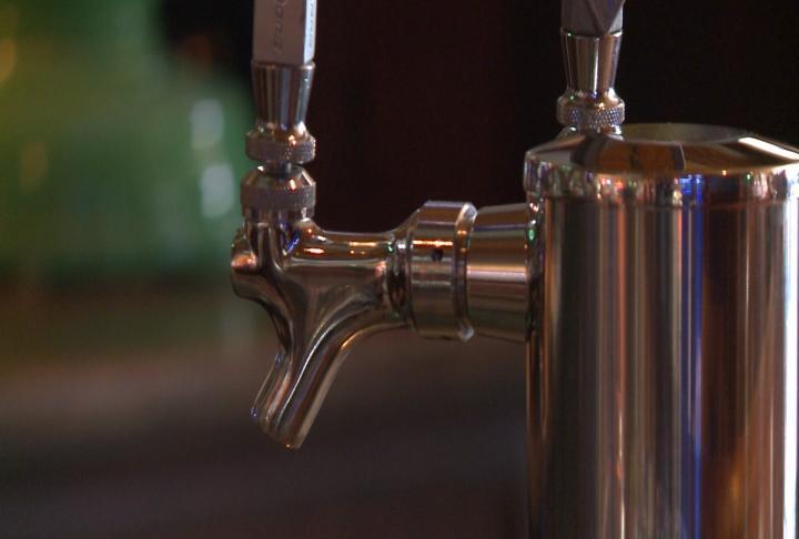 Beer tap shut off.
