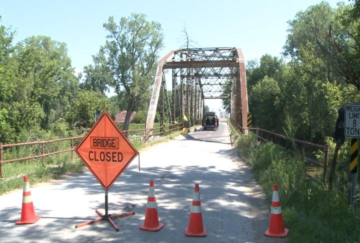 Bridge in Taylor, Missouri