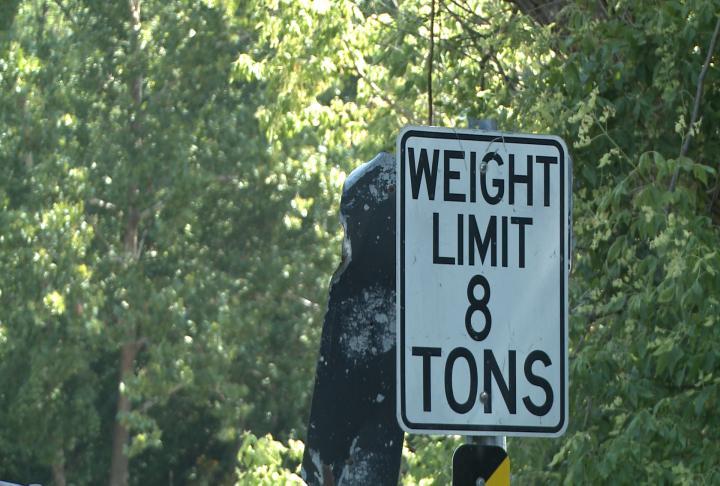 Weight limit for bridge