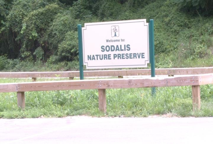 Sign outside of Sodalis