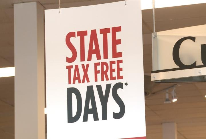 State tax free days at JCPenney
