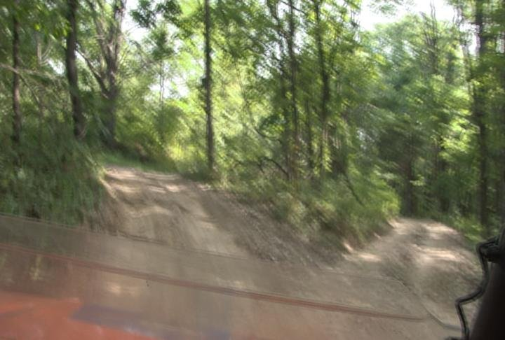Lots of different options on some of the dirt roads.