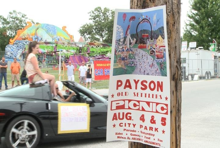 Payson Picnic with a lot of weekend events.
