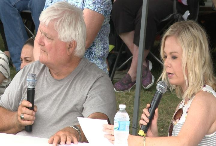 WGEM's Natalie Will was the emcee.
