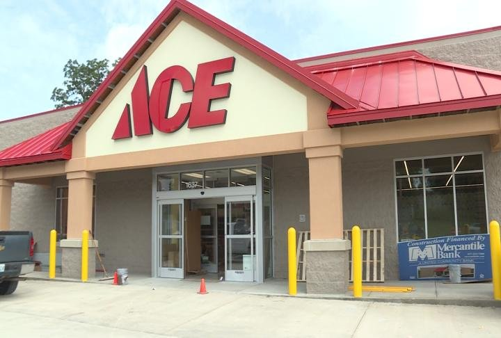 New Ace Hardware store