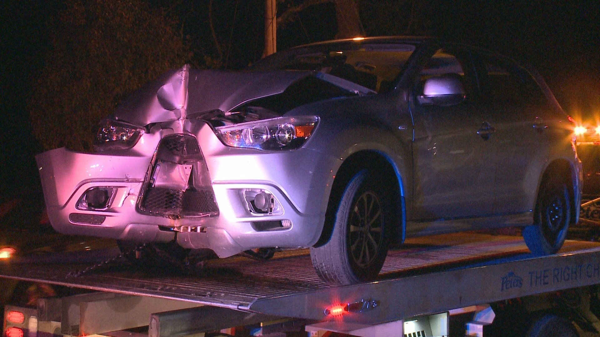 Picture of vehicle after the crash