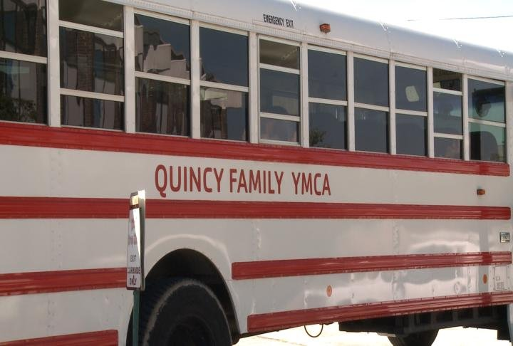 YMCA bus used for the after school program