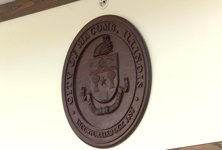Macomb city council chambers