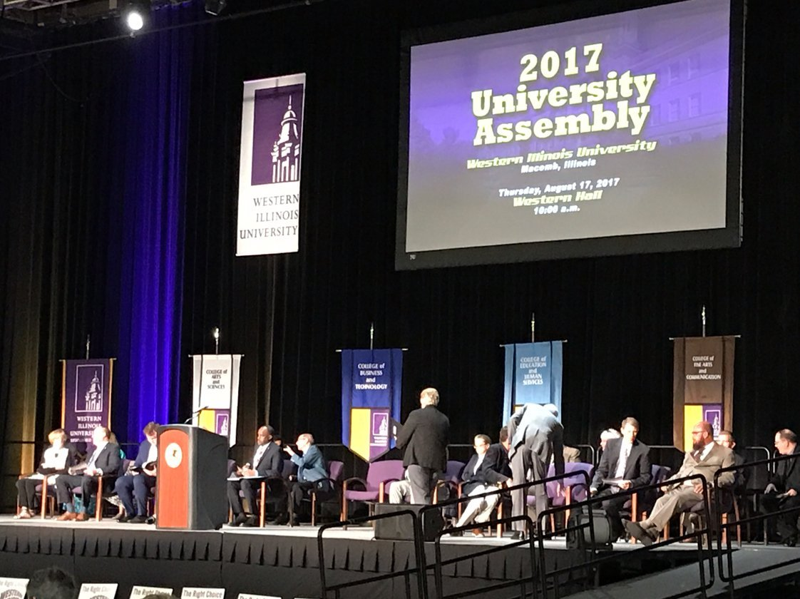 The 2017 University Assembly at WIU in Macomb